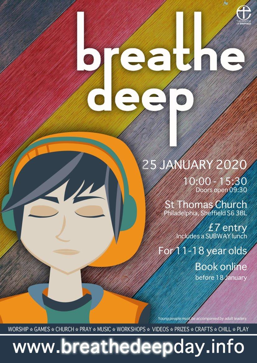 Brethe Deep Poster